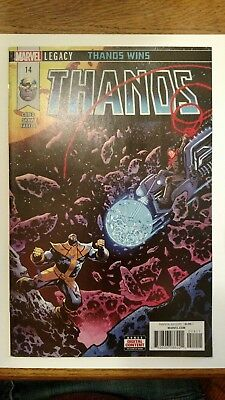 Thanos #14 1St Full Cosmic Ghost Rider Donny Cates 1St Print