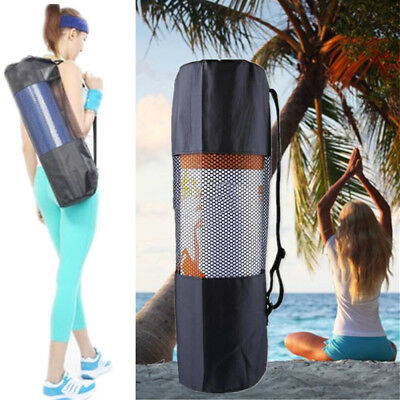 Yoga Mat Bag Portable Durable Bag Nylon Carrier Washable Adjustable Strap Carry