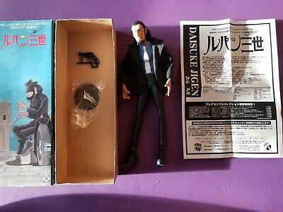 Lupin The 3rd Daisuke Jigen by Medicom Toys 1997 Figure Pre assembled collection