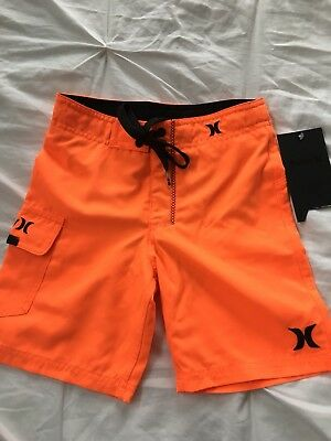Boys Hurley Board shorts Orange Size 4 New With Tags!!