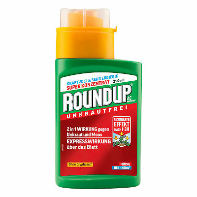 Roundup AC Concentrate 250 ml - Weed Killer glyphosatfrei Weed Free Moss