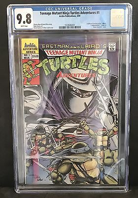 Teenage Mutant Ninja Turtles Adventures (1989) #1 CGC 9.8 1228646001 NM/M