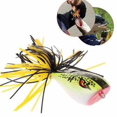Frog Snakehead Fishing Lures 9cm 9.2g Hard Bass Bait Frog Lure Fishing Tackle--