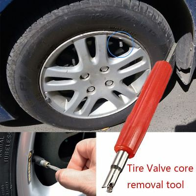 Car Motorcycle Tire Valve Stem Core Remover 2Way Insertion Repair Tools--