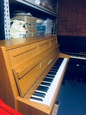 piano upright Zimmermann made in GDR TECK IN COLOR