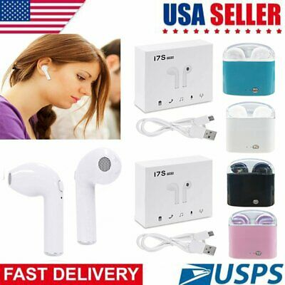 Dual Wireless Bluetooth Earbud Headset In-Ear Earphone Headphones For iPhone USA