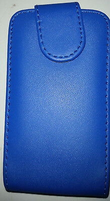 Telstra Samsung Galaxy Y S5360T Blue Flip Down Case