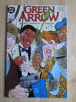 "DC Comics, ""Green Arrow"" 1988  # 6 , Great Condition"