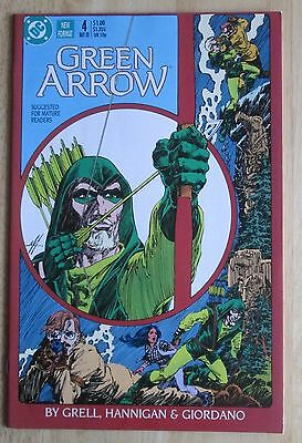 "DC Comics, ""Green Arrow"" 1988  # 4 , Great Condition"