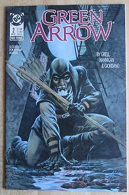 "DC Comics, ""Green Arrow"" 1988  # 2 , Great Condition"
