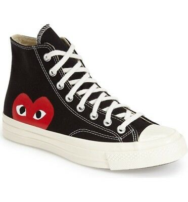 7d7976cdd45f COMME DES GARCONS Play Converse Size 10 High -  145.00