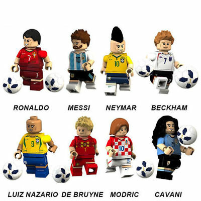 2018 World Cup Lego Fußball Team Building Blocks Ronaldo Messi Neymar Zahlen
