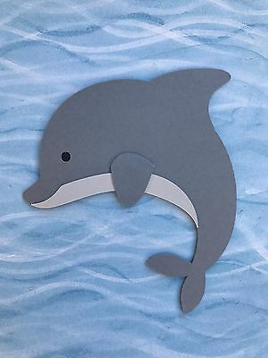 Fully assembled Dolphin die cut / paper piecing