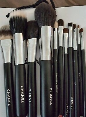 chanel makeup brush set