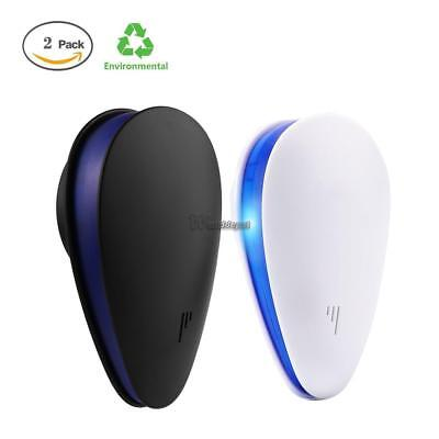 2Pcs Ultrasonic Electronic Indoor Mosquito Insect Cockroach Mosquito WT88 03