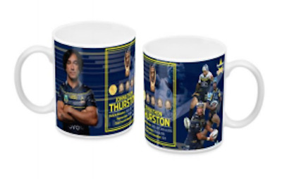 North Queensland Cowboys NRL Johnathan Thurston 2018 Retirement Mug Coffee Cup