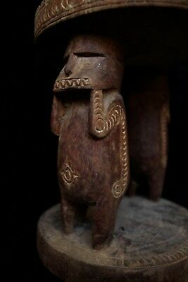 Early Massim Stool - Milne Bay New Guinea 1930's