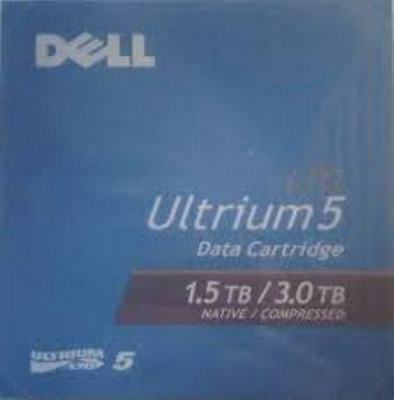 Brand New Genuine Dell LTO-5 Ultrium 1.5TB / 3.0TB Tape Data Media Car AUS STOCK