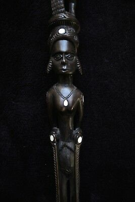 Very Fine Walking Stick - Trobriand Islands New Guinea 1960's