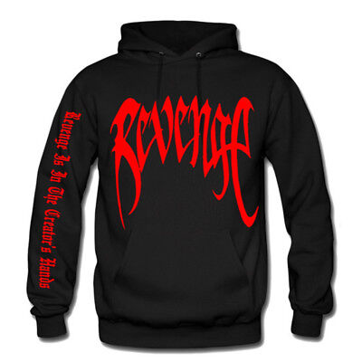REVENGE Kill Hoodie. XXXtentacion Bed Vibes forever Adult Pullover.