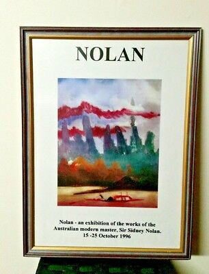 Sir Sidney Nolan. An Exhibition of the works of the Australian Modern Master !!