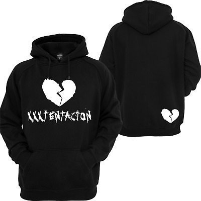 XXXtentacion Heartbreak Hoodie. Revenge Kill Bed Vibes forever Adult Pullover.