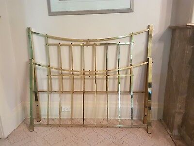 Brass Bed Queen size in good condition ...a blast from the past