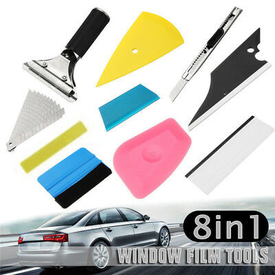 8in1 Squeegee Car Window Tinting Auto Film Install Wrapping Applicator Accessory