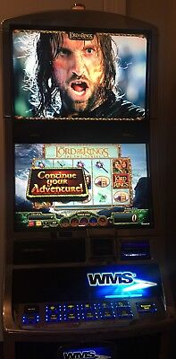 WMS BB2 🤴🏻Lord Of The Rings Slot machine.