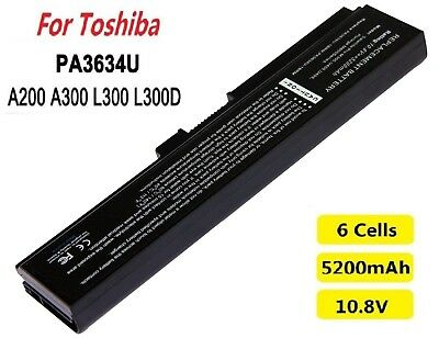 6cells 5200mAh 10.8Volt  Laptop Battery For Toshiba PA3634U-1BAS Brand new