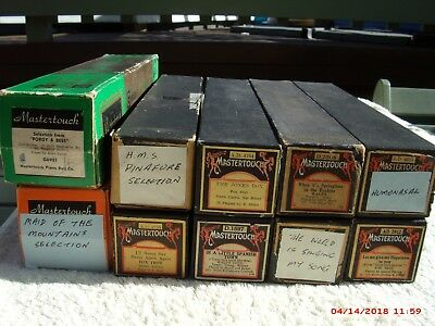 20 Great Old Pianola Rolls, Some Great Titles