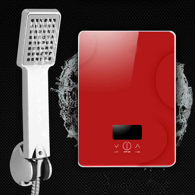 220V 6.5KW Tankless Instant Electric Hot Water Heater for Home Bathroom Shower