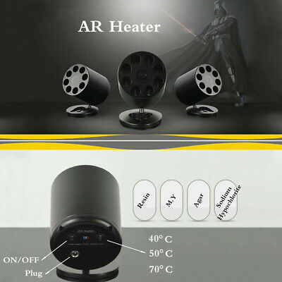 Dental Composite Resin Whitening Gel Heater AR Heat Composite Warmer 8 Slots EU