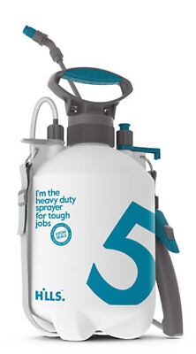 Hills Heavy Duty Industrial Sprayer 5L Chemicals Pest Control Cleaning Animals