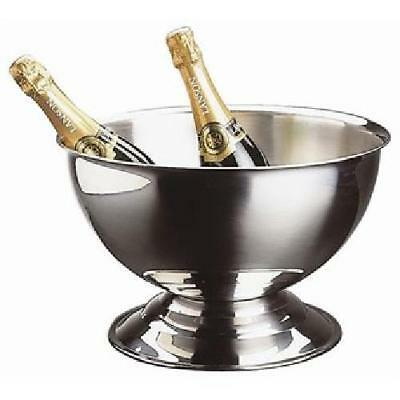 Aps U217 Champagne Bowl, Polished Stainless Steel, 13.5 L