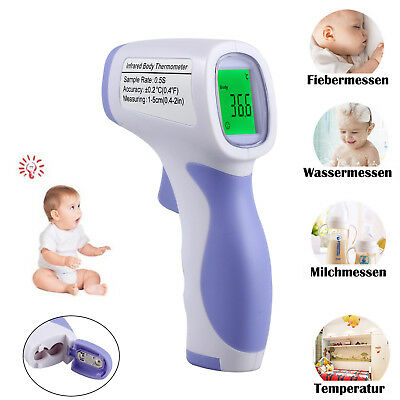 Non-Contact Body Infrared Digital Baby Thermometer Instant Reading LCD Display