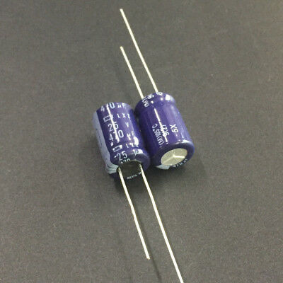 5pcs 270uF 63V270UF 10x25mm NCC Nippon LXZ Super Low impedance Capacitor
