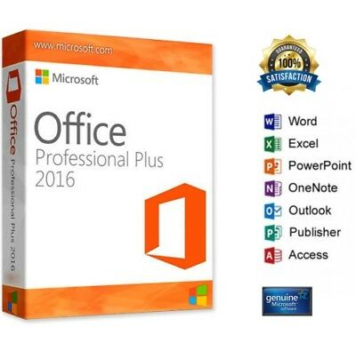 Oferta Office 2016 Professional Plus  Para Windows Español - Oferta Especial