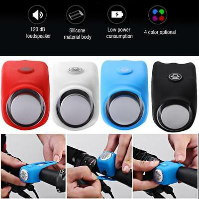 120dB Cycling Mountain Bike Electric Bells Bicycle Handlebar Ring Bell Accessory