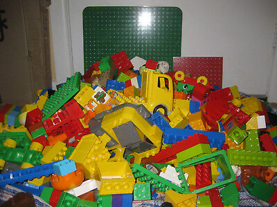 Mega Bulk  Mixed Duplo. 10 Kilo S. Baseplate, People Animals Etc