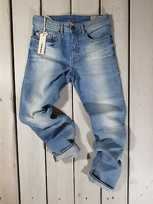 b7a88d40 Rrp $265 New Diesel Men's Jeans Buster 0666R Regular Slim Tapered Stretch