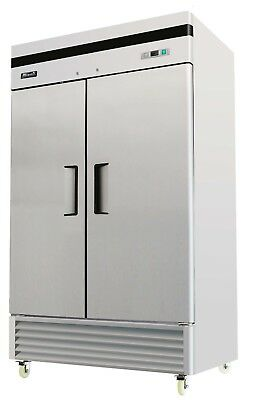 Migali C-2R-35 Commercial Two Door Refrigerator Reach In 35 Cu.Ft