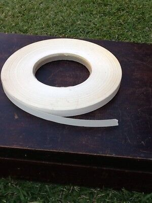White Melamine Iron On Edging Large Roll