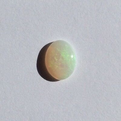 Natural Solid White Light Opal 0.85Ct 8.8Mm X6.9Mm Loose Unset Stone Australian