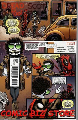Deadpool #20 (2016) 1St Printing Variant Cover Bagged & Boarded Marvel Comics