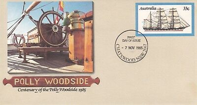 1985 Pre-stamped envelope 099 Polly Woodside.  First day of issue.