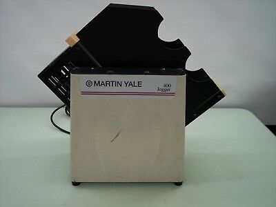 Martin Yale 400 Series Tabletop Jogger Tested And Working S/n 38764