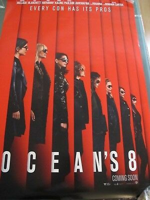 Oceans 8 - one sheet movie poster