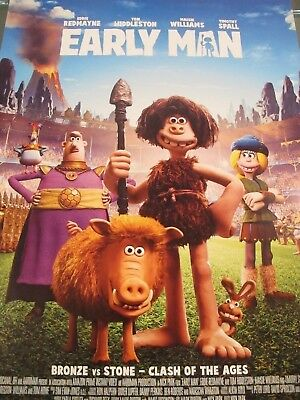 Early Man - one sheet movie poster