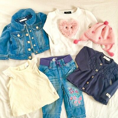 Lovely Baby Girl Winter Clothes Bundle Size 00 3-6 month Bardot Toshi Organic